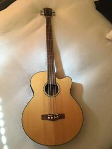 Fender Acoustic-Electric Bass Guitar GB-41SCE NAT