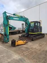 13T Kobelco Excavator for hire - NO DEMOLITION $350 per day + float Sydney City Inner Sydney Preview