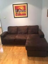 CHOCOLATE CHAISE + 2 SEATER Mona Vale Pittwater Area Preview