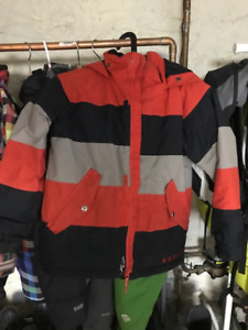 Burton Kids Ski Suit Jacket and Snow Pants Size Small