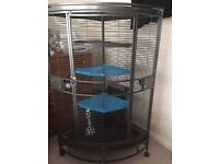 Corner Parrot/Rat cage