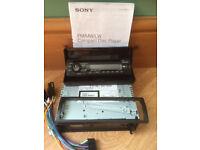Car CD Player, Sony, usb, aux input