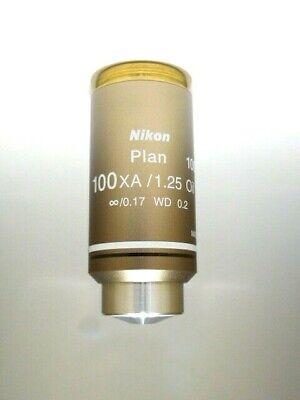 Nikon 100x Plan Achromat Oil Immersion Objective