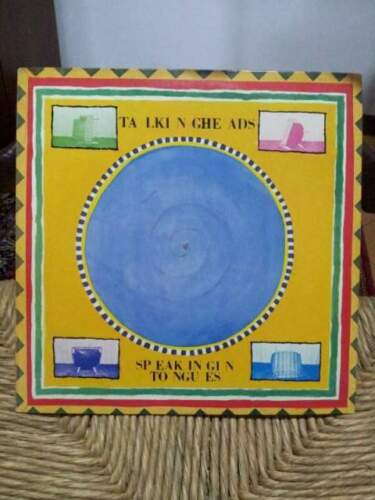 Talking Heads _ Speaking Tongues. Vinile 33 Giri