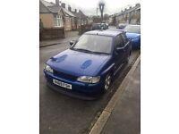 1993 MK5 Ford escort RS 2000 Cosworth turbo Wide arch bodykit replica conversion lookalike rare swap