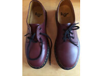 Cherry Red Doc Martens (The Original) size 6 - as new