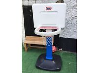 CHILDREN BASKETBALL STAND- IN GOOD CONDITION