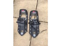 MSR snow shoes - barely used - size 9