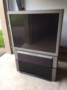 Free - Sony Rear Projection TV