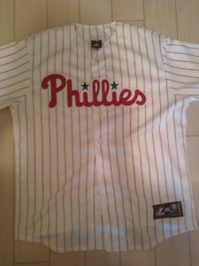 Majestic Roy Halladay Philadelphia Phillies baseball jersey