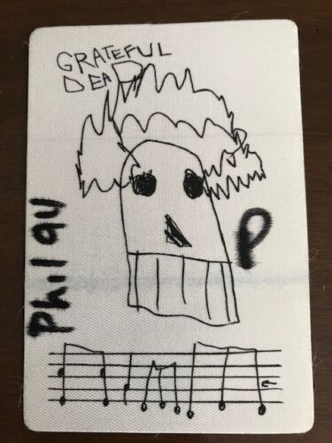 Grateful Dead - backstage pass - 50th show @ Spectrum  in Philly - October 1994