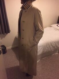 Ladies Burberry full length Trenchcoat