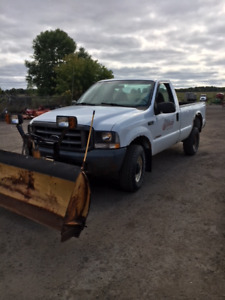 2004 Ford F250 Dsl & Myers Snow Plow