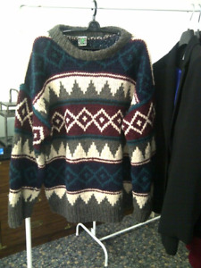 Pullover Wool Sweater from Peru