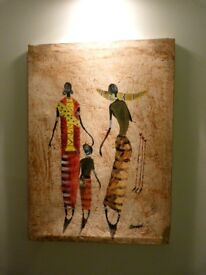Painting By Kenyan Artist