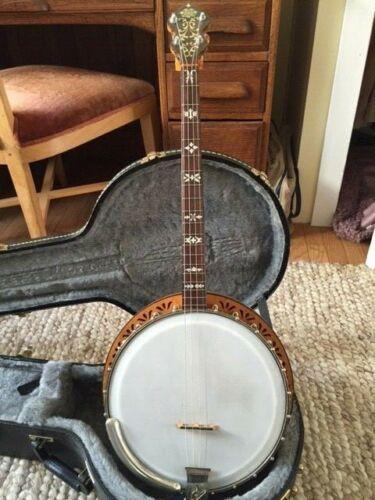 Super Orpheum 19 fret tenor banjo w/ resonator