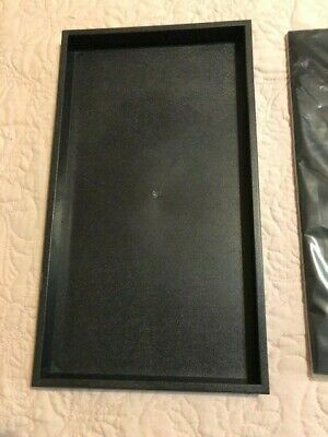 Jewelry Display Tray Plasticstackablewith Black Velvet Insert Padtrayinsert