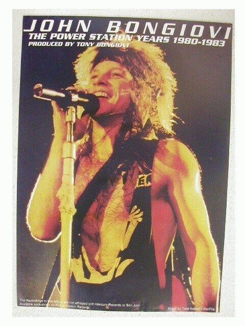 Jon Bon Jovi Promo Poster John