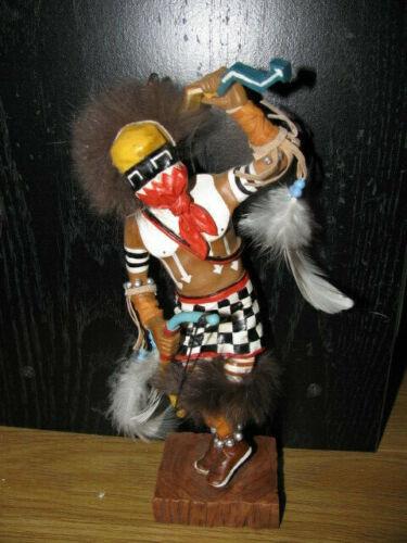 "Ceramic 8"" ""Twisted Leg""  Kachina Doll"