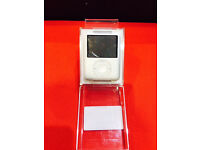 IPOD NANO 3RD GEN 4GB SILVER WITH 12 MONTH WARRANTY