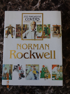 Norman Rockwell Book:  332 Magazine Covers