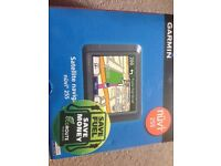 Garmin Nuvi 255 sat nav with UK and European maps - USED