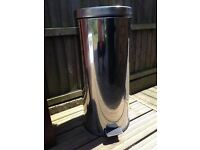 Brabantia stainless steel tall pedal bin - private sale