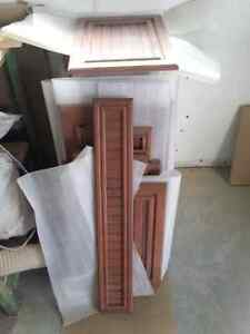 Portes et tiroirs d'armoire