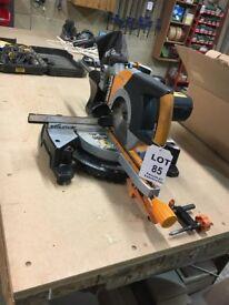 Evolution RAGE3-DB Sliding Mitre saw 255mm