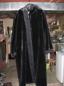 Woman's Imitation Fur Winter Coat