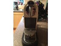 Magimix Nespresso cream coloured coffee machine - used only once!