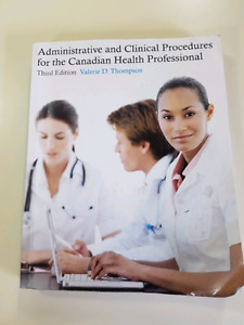 Medical Office Assistant Textbooks EUC (MacEwan University)