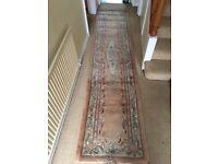 Hall way carpet / rug