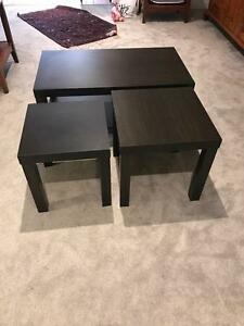 Coffee Table- with two side tables Naremburn Willoughby Area Preview