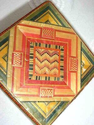 MONK LP KOON AMULET,MAGIC PROTECTION,BUDDHA,GOOD LUCK MANDALA BOX,w,SCENTED DISK