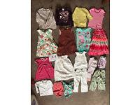 Girls 3-4 bundle (Gap, Boden, Zara, JoJo Maman, White Co) Swimsuit, dresses, peppa Pig (19 items)