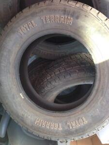 4 new Tires no Rims