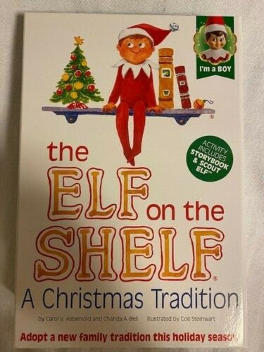 New Elf On The Shelf A Christmas Tradition w/ Storybook Aebersold/Bell Boy