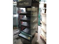 hot display cabinet pizza pie commercial kitchen equipment restaurant takeaway bakery