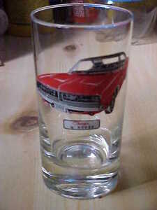 1969 Dodge Charger drinking glass Cornwall Ontario image 3