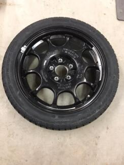 Spare Tyre  17in  Wheel fits most C Class Mercedes