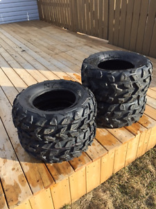 Set of like new Maxxis ATV Tires for sale