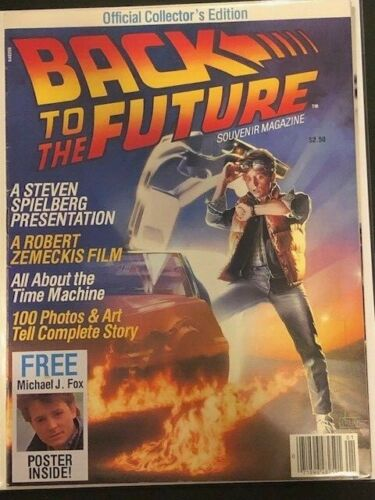 Back to the Future Souvenir Magazine - Official Collectors Edition