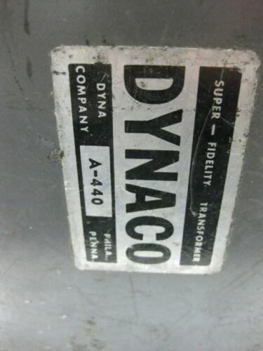 1 Dynaco 440  triad  UTC output  transformers  DIY