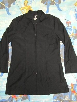 Used, SEPHORA Beautician Cosmetology Salon Cosmetologist Long Sleeve Black Smock 12  for sale  Charlotte