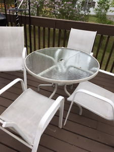 Five (5) Piece Patio Set