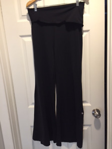 Lululemon Yoga - Fold down Waistband/Wide Leg