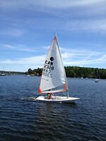 Laser / Byte Sailboat