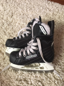 Bauer Youth Skates Size 10D