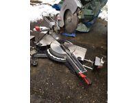 """240v Metabo 10"""" sliding mitre saw"""